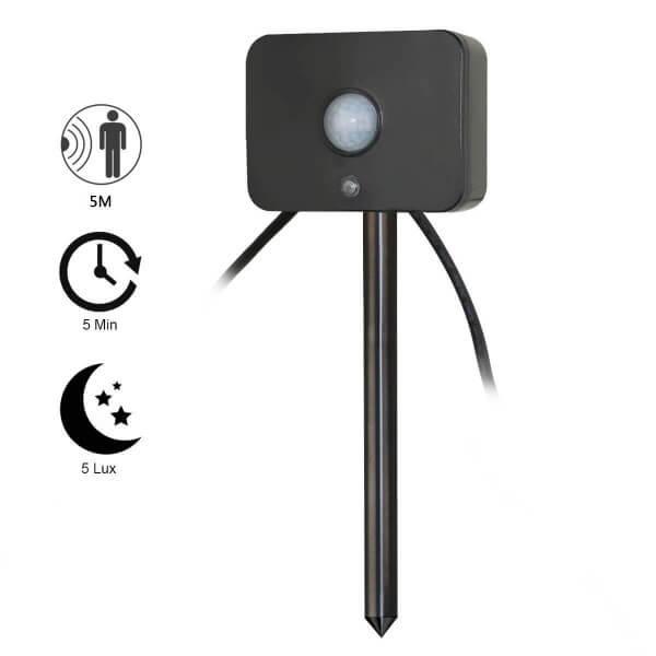 HORTUS PIR Bewegungssensor für Gartenbeleuchtung