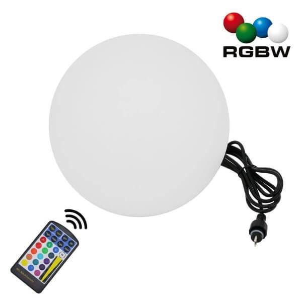 """20CM RGB-WW Ball Kugelleuchte """"NATARE"""" für Außen IP68 Wasserdicht (Netzteil separat erhältlich)"""