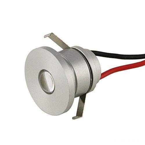 "1W VBLED LED Mini Einbauspot ""ALDYNE"" Minispot - 350mA - IP44 - 4000K"