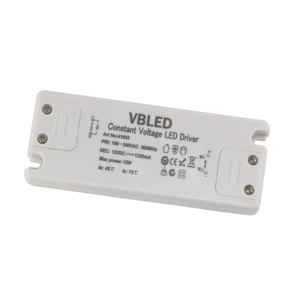 LED Netzteil Konstantspannung / 12V DC / 15W