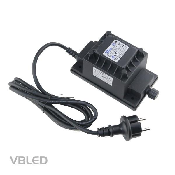 Außen Steckernetzteil 12V AC 80W IP67