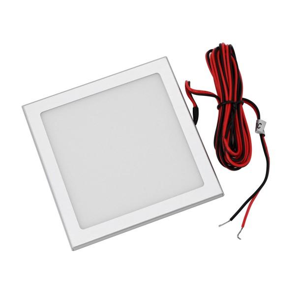 Mini LED Panel Unterbauleuchte 12VDC / 3,5W / 100x100x5mm