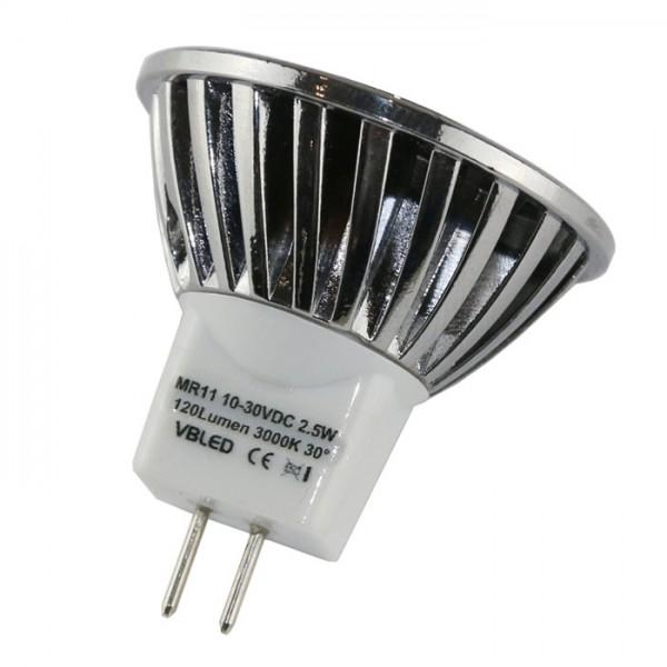 VBLED LED Leuchtmittel - MR11/GU4 - 2,5W