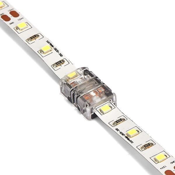 professionelle SMD LED Streifen Verbinder - 10mm 2 PIN ohne Löten
