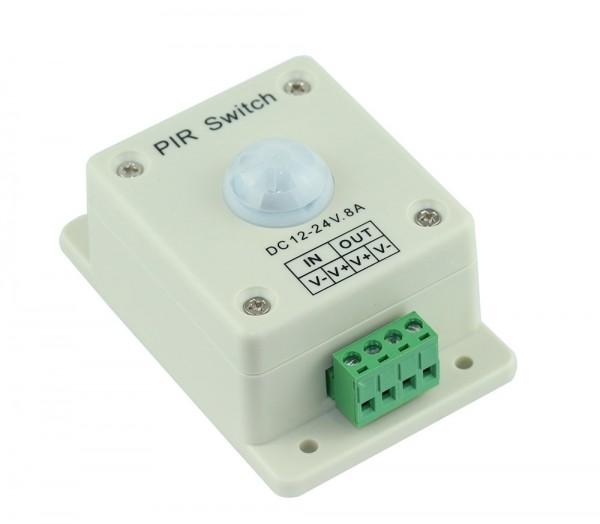 Bewegungsmelder für LED Produkte auf 12-24V DC / 8A