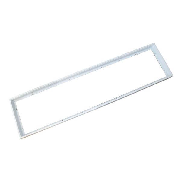 Aufputz-Rahmen für LED Panel (120 cm x 30 cm) schneller und einfacher Aufbau
