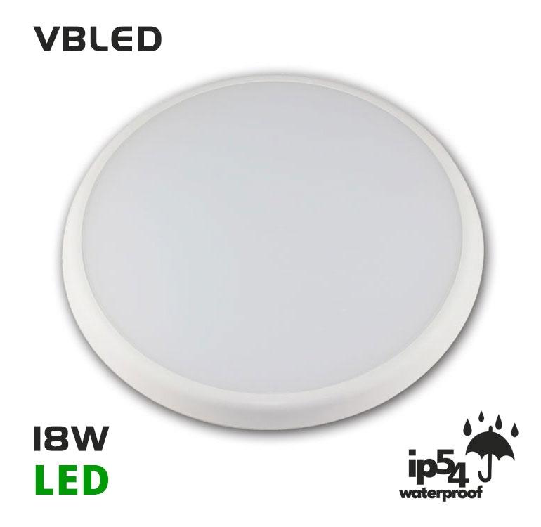 18w led deckenleuchte classico mit sensor 84001s burobeleuchtung vbled. Black Bedroom Furniture Sets. Home Design Ideas