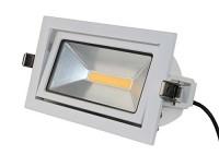 35W LED Shopstrahler schwenkbar 3K