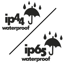 waterproof IP44 IP65