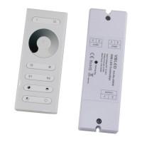 LED RF Dimmer mit Fernbedienung für einfarbige LEDs 12-24V DC
