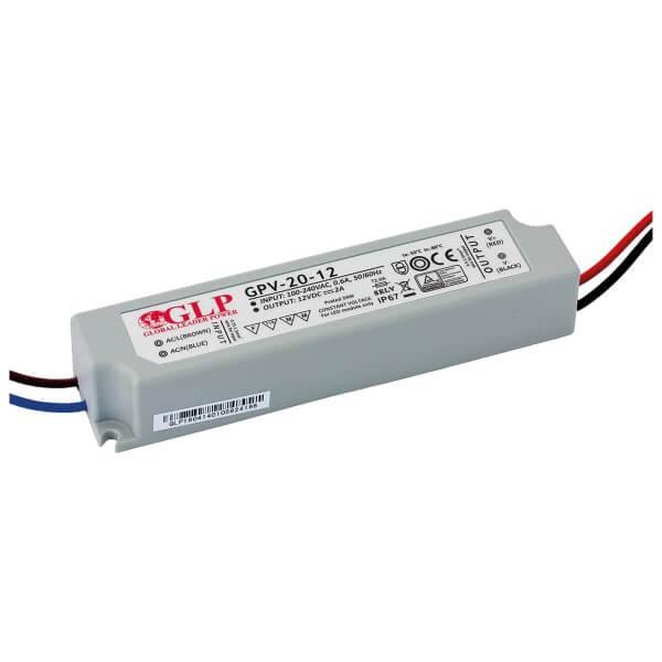 LED Konstantspannung-Netzteil 24W 12V DC