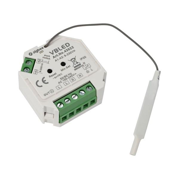 ZigBee 3.0 Unterputz Dimm-Aktor Dimm-Schalter Ohne Neutral Kabel 230V (ohne Neutralleiter)