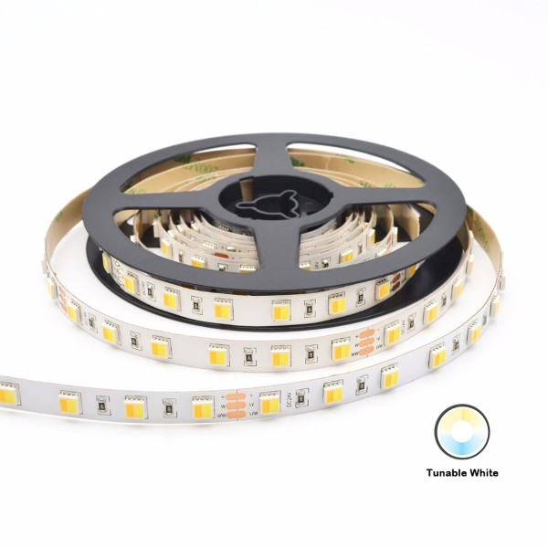LED-Streifen Strip light 5m Tunable white CCT 2800-6500K