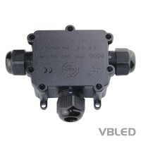 3-Wege-Kabelverbindungsbox IP68
