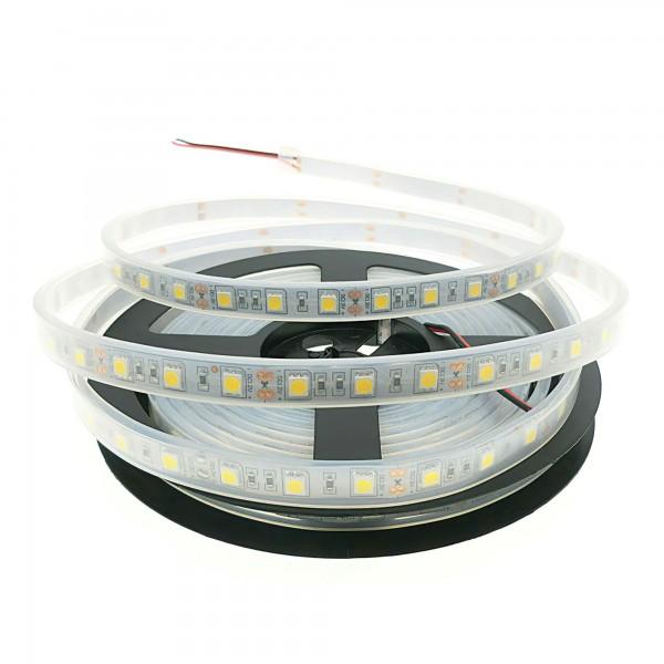 LED-Streifen kaltweiß wasserfest 24VDC IP67