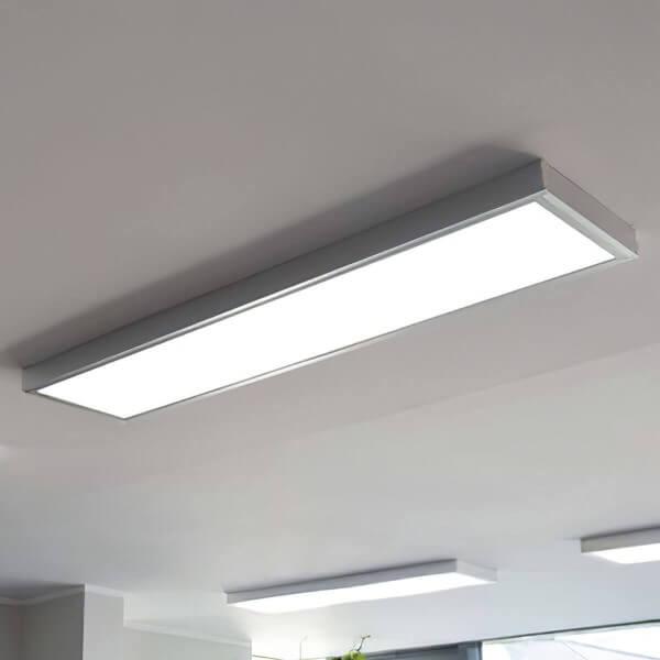 LED Panel (295x1195x8mm) KIT inkl. Aufputzrahmen 36W 4000K Neutralweiß