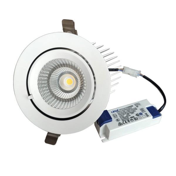 LED Shopstrahler - schwenkbar 40W 4000K