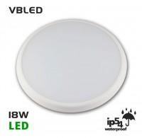 18W LED Deckenleuchte Classico mit Sensor