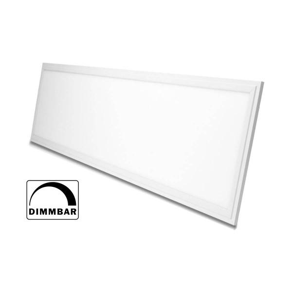 Ultraflache Bauweise LED Panel dimmbar weiß 120 x 30cm, 4000K 36W