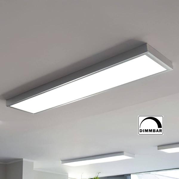 LED Panel (295x1195x8mm) KIT dimmbar inkl. Aufputzrahmen 36W 4000K Neutralweiß