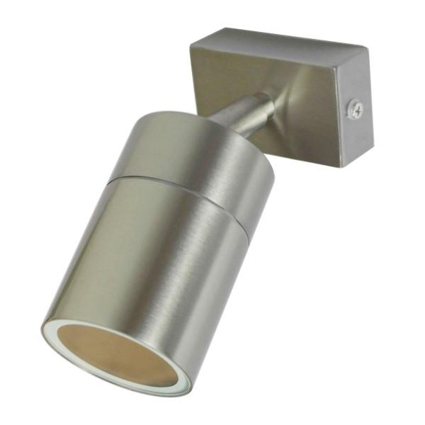 LED Wandleuchte Außenleuchte 1-Flammig Edelstahl GU10-230V