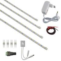 LED Lichtleisten 4er Standard ohne Profil