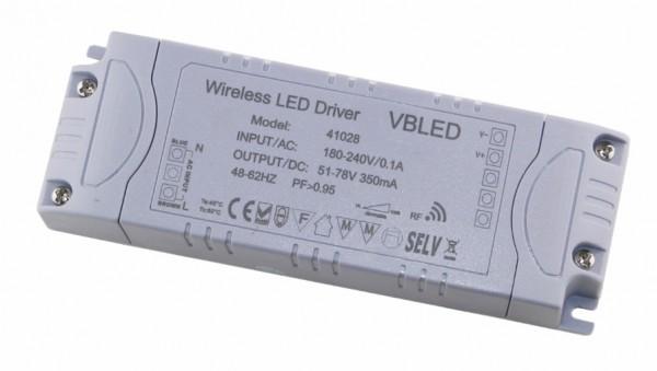 LED Funk Netzteil 51-78V DC - 27W - 350mA - Dimmbar (für 18-27 Mini Spots geeignet)