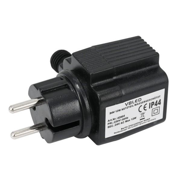 Außen Steckernetzteil 24V AC 12W IP44