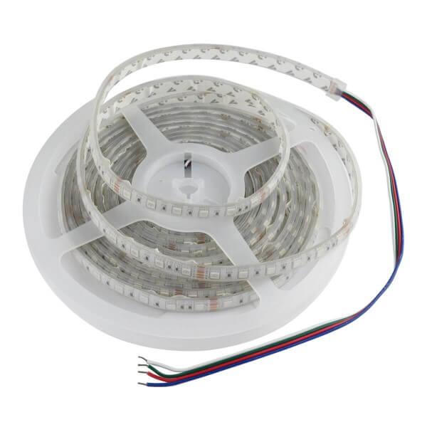 5m LED Streifen RGB IP67 24V DC