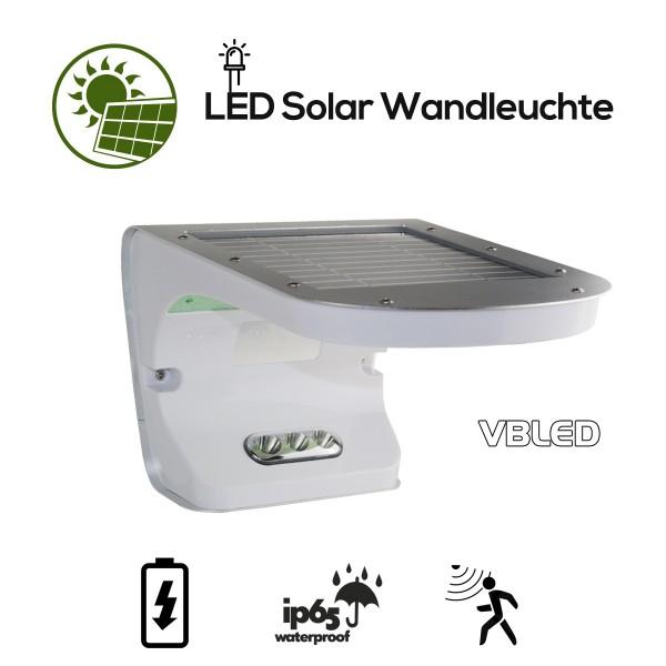 Solar Wandleuchte Bewegungsmelder & Dämmerungssensor