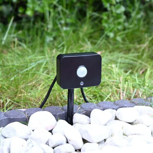 Gartus PIR Bewegungssensor für 12V Gartenbeleuchtung