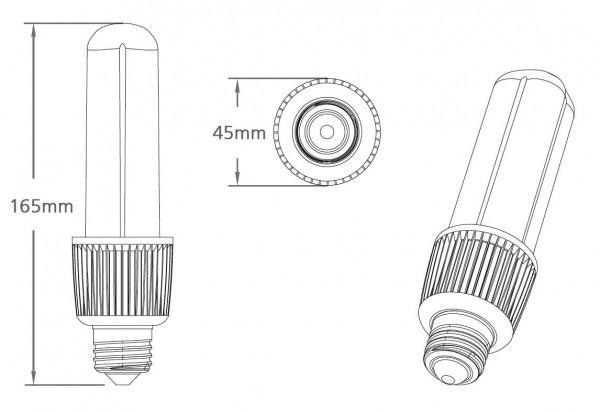 E27 LED Leuchtmittel 8W