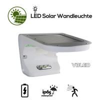 Solar LED Wandleuchte mit Bewegungsmelder & Dämmerungssensor