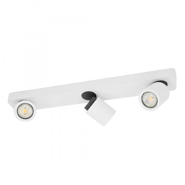 LED-Deckenstrahler 3-flammig weiß inkl. 3x GU10 LED 5W