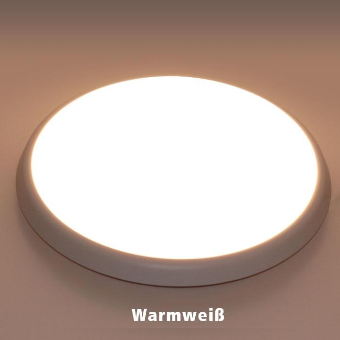 18w led deckenleuchte wandlampe mit bewegungs melder sensor ip54 wassergesch tzt ebay. Black Bedroom Furniture Sets. Home Design Ideas