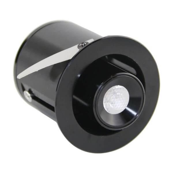 """1W Mini VBLED LED Einbaustrahler """" TINI"""" Schwenk- und Höhenverstellbar"""