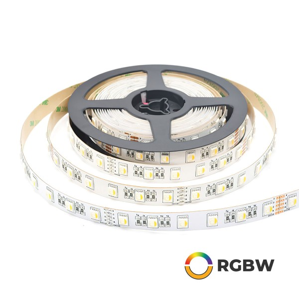 LED-Streifen Strip light 5m RGB+WW 24VDC