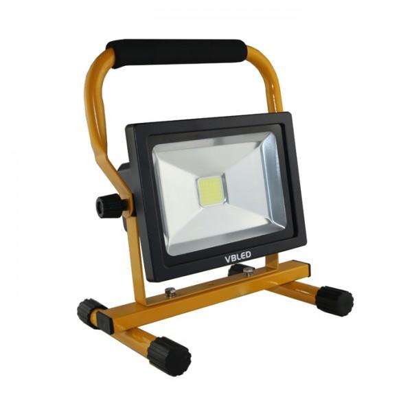 VBLED LED Akku Strahler 20W