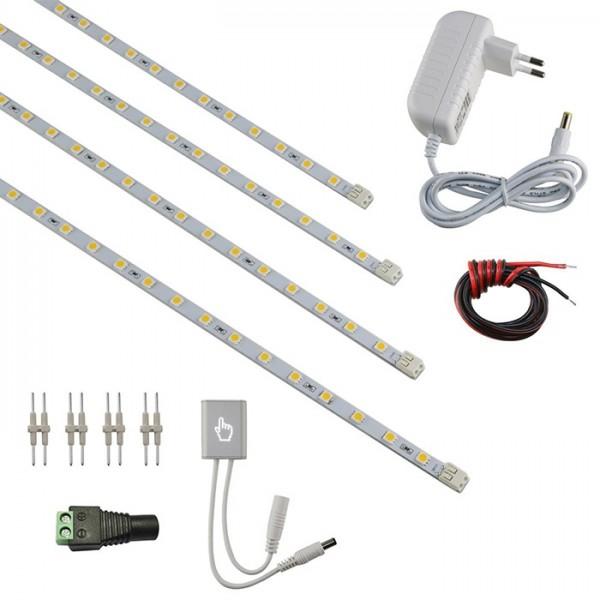 VBLED LED Lichtleisten 4er Standard ohne Profil