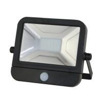 30W LED-Flutlichtstrahler mit Bewegungsmelder
