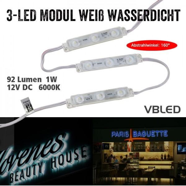3-fach LED-Module 20Stk.