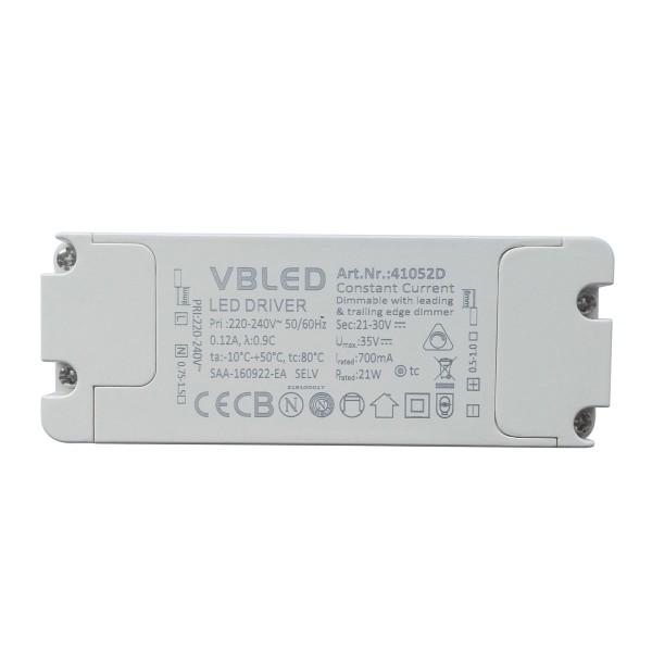 LED Netzteil Konstantstrom / 700mA / 14-21W
