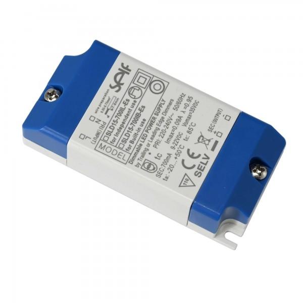 LED-Trafo Konstantstrom, 15 W, 9 - 22 V DC, 700 mA