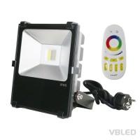 50W RGB+W LED Scheinwerfer