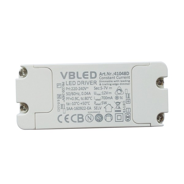 LED Netzteil Konstantstrom / 700mA / 3-5W