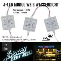 LED Modul 4-fach a 20 Stück
