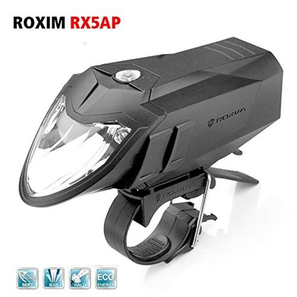 Roxim RX5 Premium Fahrrad-Frontlicht