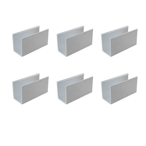 6 Montage-Clips 3 cm für Neon LED Stripe