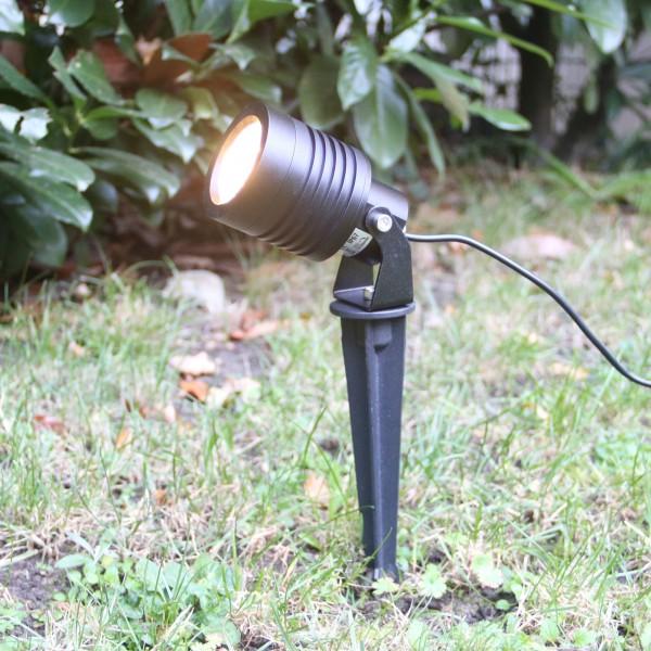 """LED Garten Strahler """"Mutatio"""" 3000K 3-Stufendimmer 3W, 6W, 10W"""