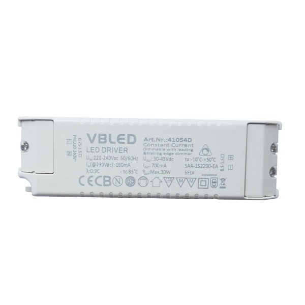 LED Netzteil Konstantstrom / 700mA / 21-30W